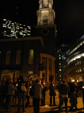 Candlelight Vigil in Boston
