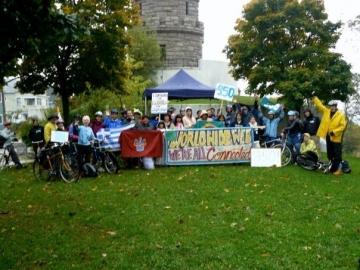 Prospect Hill, Somerville 350 activists