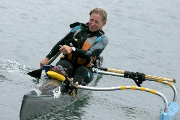 Margo Pellagrino in her Kayak