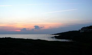 Coastal Maine Island Coast
