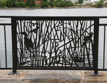 Chelsea Artist Depiction of Salt Marsh Wildlife