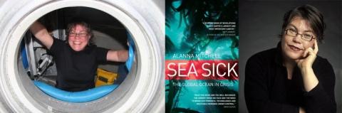 Alanna Mitchell, author of Sea Sick