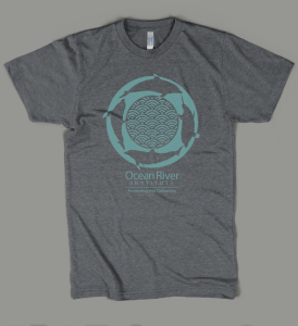 Ocean River Institute Dolphins Sustainable Tee