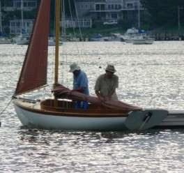 Ocean Stewardship sailboat