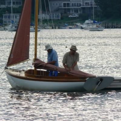 Ocean Stewardship sailboat
