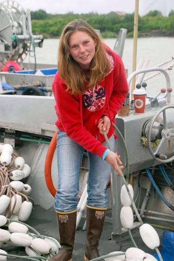 Alaska fisherwoman
