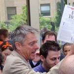 DA Samuel Sutter with Bill McKibben Rolling Stone article Call to Arms drops charges against Jay O'Hare and Ken Ward