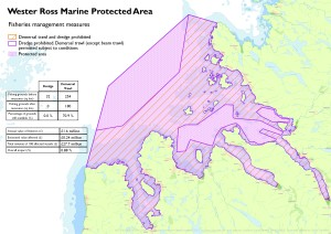 Wester Ross MPA map