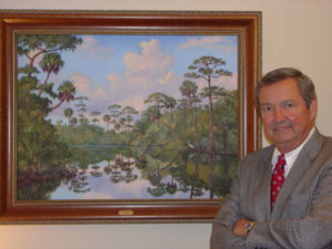 clay-shaw-with-loxahatchee-painting