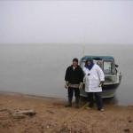 Cooper Island is twenty-five miles east of Barrow Alaska in the Beaufort Sea of the Arctic Ocean