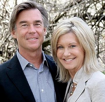 Olivia and John