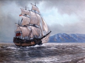 """THE ALASKA COLLECTION"" - HMS Resolution 1778. """