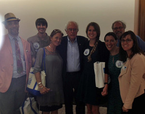 Senator Sanders w Ocean Advocates